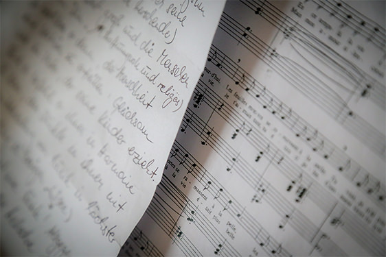 Synchronisation - Text Noten - Betonung Danijel Peric Hamburg